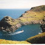 Boscastle Harbour a few minutes walk from Lower Meadows