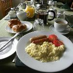  A wide selection of breakfasts