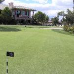 Wildhorse clubhouse & practice green