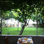 A great spot to eat a leisurely breakfast