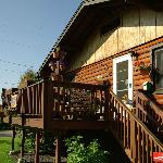 ภาพถ่ายของ Downtown Log Cabin Hideaway Bed and Breakfast - Fairbanks, Alaska