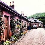 Cottages in Luss
