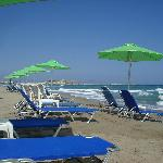 Marel Apartments, Rethymnon,Crete, Beach