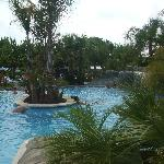 The pool area at camping la siesta