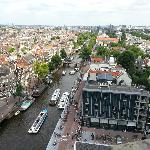 Prinsengracht from Westerkerk tower