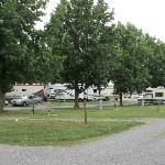 Campsites at Fort Chiswell