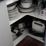 fully stocked - buy your food and just get cooking
