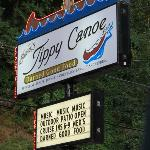 Dinner was at Tippy Canoe