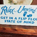  Get in a flip flop state of mind