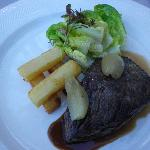  bavette echalotte grosses frites   la graisse d&#39;oie