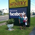 Susan and Susann at the Florida Orange Grove Winery