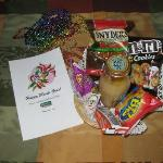 My Surprise Gift Basket for Mardi Gras