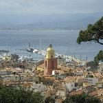St Tropez viewed from the citadel