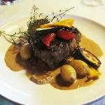 Beef Fillet with Porcini sauce