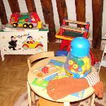 Play area in the mezanine