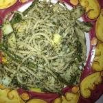  Spaghetti al pesto
