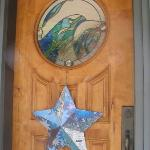 door to the B&B