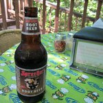 Sprecher's Rootbeer and Green Owl Tablecloth
