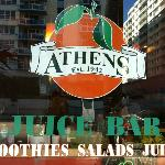 Athens Juice bar