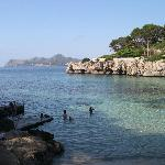 Cala Gat (vicino all'hotel)