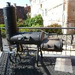  Barbecue sur la terrasse de l&#39;htel