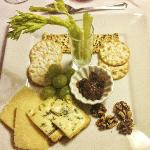 A delicious selection of Island cheeses.