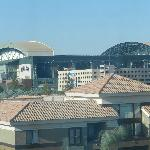 View from Hotel Room of Stadium
