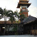 Small tower of Fare Ti'i resort