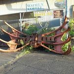 The claw sugar cane harvester.