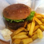  Burger et frites fraches