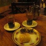 Moroccan Mint Tea and Baklava