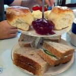 tea for two, filling sandwiches and your choice of filling!