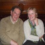 Eamonn and Mary Anne at the Dan Paddy Andy Festival