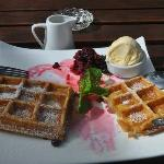 Waffles!, Addington