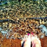 Big Bay State Park Beach...CLEAR WATER!! :)