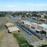 "Park Inn Astrakhan - View ""Railway Station"""