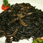  Spaghetti con le seppie al nero