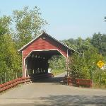  Covered Bridge entranceway to the campground