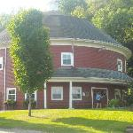  Round barn - the main building at the campground