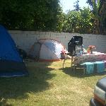  Tent site at Anaheim Village