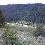 Moose Creek Ranch from a horse trail