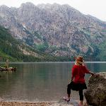  Jenny Lake hike with Lost Creek Ranch Guide, John