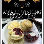 Enjoy an Award winning scone with us.