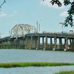  Bridge from Beaufort across marina