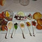 antipasto misto dello chef