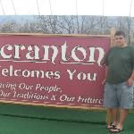 The Welcome to Scranton Sign