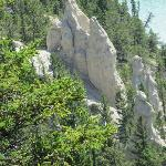 """Hoo doos"" rock formations"