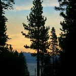 View of Lake Tahoe from our porch