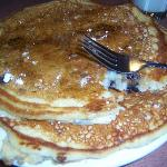  huge blueberry pancakes