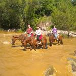  Fording the rivers during the rainy season, what an adventure!